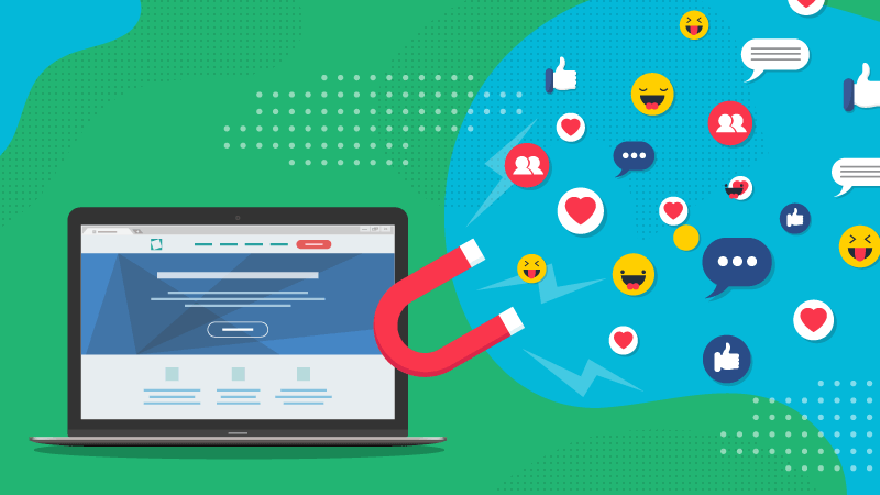 How to maximise social media traffic to your site.